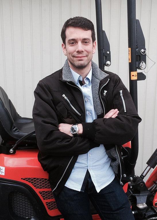 Tommy Nilsson, koordinator av uthyrningsnätverket